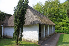 Thatched Barn. Used as cider press Royalty Free Stock Photography