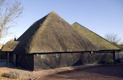 Thatched Church Stock Photo