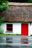 Thatched Cottage. An old thatched cottage in Connemara, Ireland Royalty Free Stock Photography