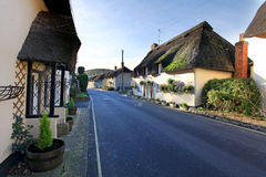 Thatched cottage dorset Royalty Free Stock Photo