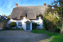 Thatched cottage in Lulworth village dorset england Royalty Free Stock Image
