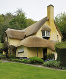 Thatched Cottage. Traditional Thatched Cottage & Gardens, Exmoor, Somerset Royalty Free Stock Photography