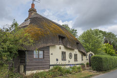 Thatched cottage. Traditional Thatched cottage in rural English countryside Royalty Free Stock Photography