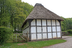 Thatched cottage, Wales Stock Photography