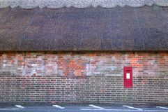 Thatched cottage wall Royalty Free Stock Images