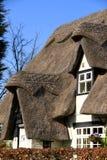 Thatched Dach 1 Lizenzfreies Stockbild