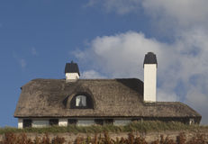 Thatched Dach Stockfoto