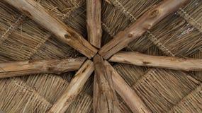 Thatched Dach Lizenzfreies Stockfoto