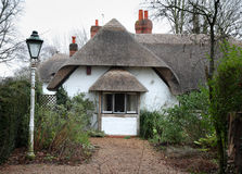 Thatched English Cottage Royalty Free Stock Photos