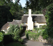 Thatched English Cottages Royalty Free Stock Images