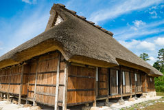 Thatched farmhouse, Japan. Royalty Free Stock Photography