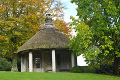 Thatched Garden Shelter Royalty Free Stock Image