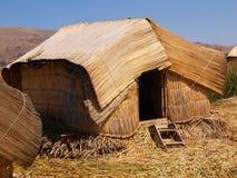 Thatched Hütte Stockbild