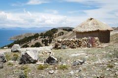 Thatched Hütte Stockfotografie