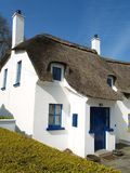Thatched holiday home. A thatched holiday home in Ireland Royalty Free Stock Photography