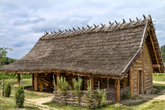 Thatched house Stock Images