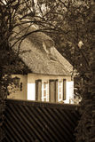Thatched house Royalty Free Stock Photography