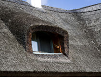 Thatched house detail Royalty Free Stock Photo