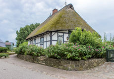 Thatched House Stock Photo