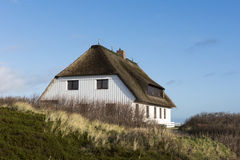 Thatched House Sylt, Germany Stock Images