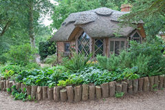 thatched hustak Royaltyfria Bilder