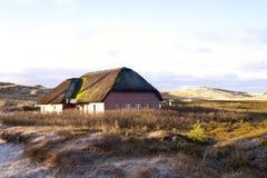 thatched hustak Fotografering för Bildbyråer
