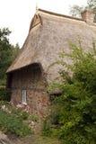 thatched hustak Royaltyfria Foton
