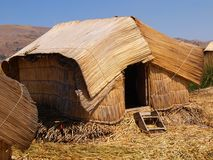 Thatched hut Stock Image