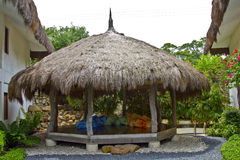 Thatched hut Royalty Free Stock Photography