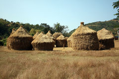 Thatched Huts Stock Image