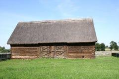 thatched ladugård Royaltyfri Fotografi