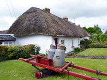 Thatched Roof COTTAGE Royalty Free Stock Image