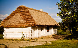 Thatched roof cottage Royalty Free Stock Photo