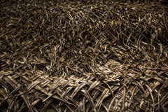 Thatched roof Royalty Free Stock Photos