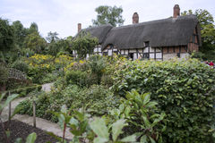 Thatched roof home in England Royalty Free Stock Image