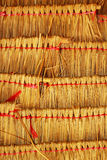 Thatched roof. Stock Photography