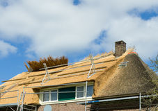 Thatched roof Royalty Free Stock Photography