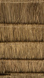 Thatched roof. Thatched roof style of Thailand Stock Photography