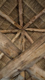 Thatched roof. Thatched roof style of Thailand Royalty Free Stock Photo