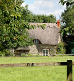 Thatched Rural Cottage Stock Image