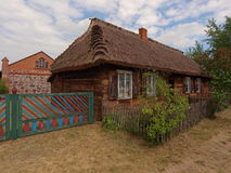 Thatched rural cottage. Royalty Free Stock Photo