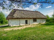 Thatched rustic cottage Royalty Free Stock Photo