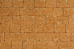 Thatched sugar stone background Royalty Free Stock Images
