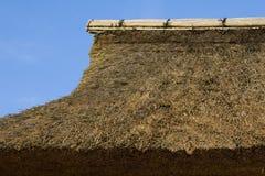 thatched tak Arkivbild