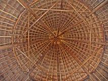 thatched tak Royaltyfria Bilder