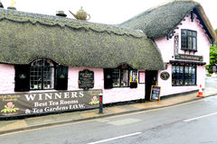 Thatched Tea Rooms. Stock Photography