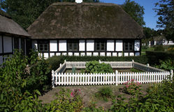 Thatched Tudor style cottage Royalty Free Stock Photography