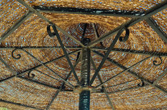 Thatched umbrella Royalty Free Stock Image
