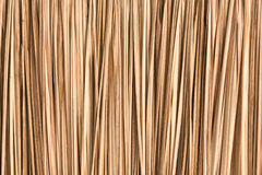 Thatched wallpaper. Closeup of an old thatched roof background Royalty Free Stock Photo