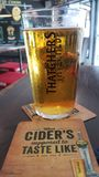 Thatchers gold cider Stock Images